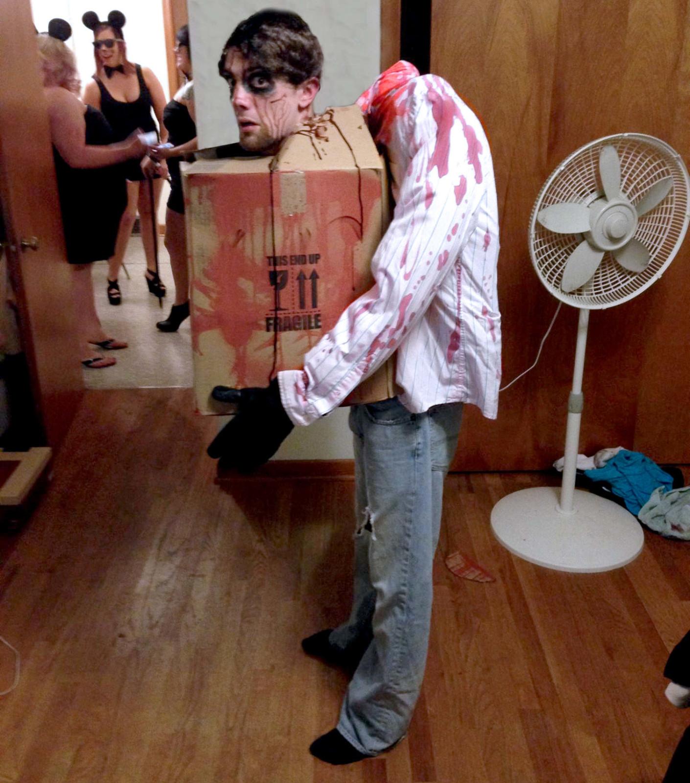 Оригинальный костюм на хэллоуин